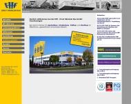 Bild Webseite EHF , Ernst Hähnlein Bau Feuchtwangen