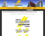 Friedrich Schmidt Bedachungs GmbH - seit 100 Jahren auf Bremens D?chern zu Hause