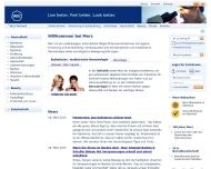 Bild Webseite Merz Frankfurt