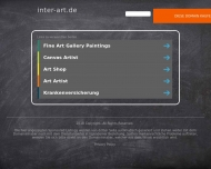 Bild Webseite Inter Art Galerie Reich Köln