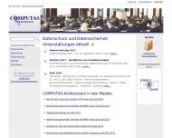 Bild Webseite COMPUTAS Gisela Geuhs Köln