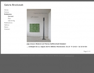 Bild Brockstedt Hans Galerie