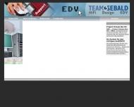 Website Zeichen und Grafikbüro Sebald
