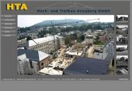 Bild Webseite HTA Hoch- und Tiefbau Annaberg Annaberg-Buchholz