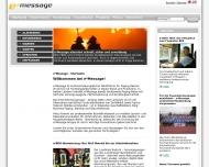 Bild Webseite e*Message Wireless Information Service Deutschland Berlin