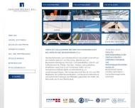 Bild Webseite Herfert Bau Berlin