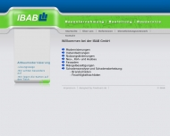 Bild Webseite IBAB Berlin