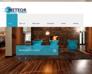 Bild Webseite Meteor Bau Berlin
