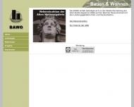 Bild Webseite BAWO - Bauausführungen und Handelsgesellschaft Berlin