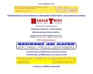 Bild Webseite Harald Thies Hoch- und Tiefbau Berlin