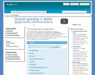 Bild Webseite Ditting Media Beteiligung Berlin