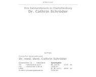 Bild Webseite Schröder Cathrin Dr. Zahnarztpraxis Berlin
