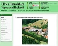 Bild Himmelsbach Ullrich Sägewerk u. Holzhandel