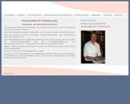 Bild Webseite Rechtsanwältin Helga Druckenbrod Berlin