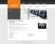 Website Wickler Werner Rechtsanwalt