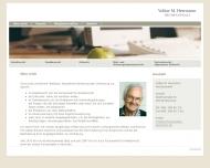 Bild Webseite Herrmann Volker M. München