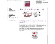 Bild Webseite Raumgestaltung Tritsch Freiburg im Breisgau