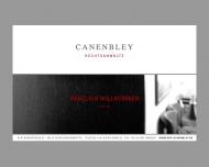 Bild Webseite Rechtsanwälte Canenbley und Canenbley Osnabrück