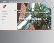 Bild Webseite Klimas Metallbau Hamburg