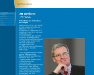 Bild Webseite Hohenlohe-Oehringen Peter Prinz zu Rechtsanwalt München