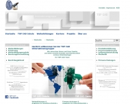 Website TOP CAD Schule