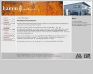 Bild Webseite Metallgestaltung Hamm Reutlingen