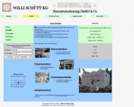 Website Schütt Willi