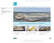 Bild Webseite F + Z Baugesellschaft Hamburg