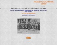 Bild Webseite Kaufmann Amandus Hamburg
