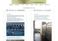 Bild Webseite Eckler Paul Hoch- und Tiefbau Hamburg