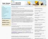 Bild Webseite Niemann Bau und Beratung Hamburg