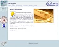 Bild Webseite Schulz Helmut Hamburg