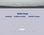 Website Haupt Steffen Dipl.Ing. Mediator Architekt