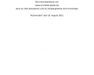 Website Jakobi Hanns Peter Dipl.-Ing. Architekt