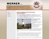 Bild Webseite Werner Hamburg