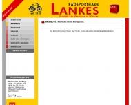 Website Fahrrad Lankes