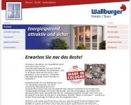Bild Webseite Wallburger Köln