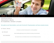 Bild Webseite Hans-Walter Lege - Fahrschule - Berlin