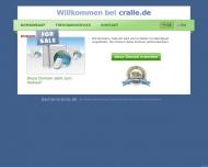 Bild Webseite Cafe Cralle Berlin