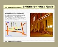 Bild Webseite Bierstube Paule-Panke Berlin