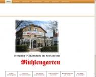 Bild Webseite Gaststätte Mühlengarten Berlin