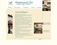Bild Webseite Rammersweier Hof Landgasthaus Pension Offenburg