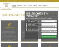 Bild Webseite Höchster Hof Frankfurt