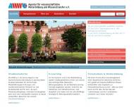 Bild AWW Agentur für wissenschaftliche Weiterbildung und Wissenstransfer e.V.