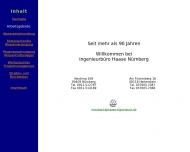 Bild Webseite Friedrich Haase Nürnberg