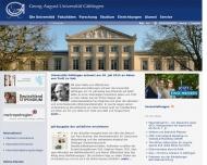 Bild Georg-August-Universität Göttingen, Verwaltung
