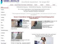 Bild Webseite Meier + Schultz Gebäudereinigung mit System Köln