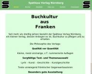 Bild Webseite Spätlese Verlag Erna Hofmann Nürnberg