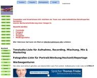 Bild Webseite Greenhorn Musikverlag München