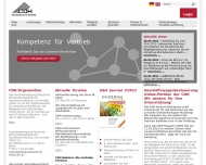 Bild Webseite CDH-Wirtschaftsdienst Köln